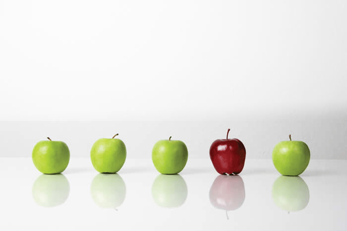 Working with Red Apples Media Helps You Stand Out From The Bunch!
